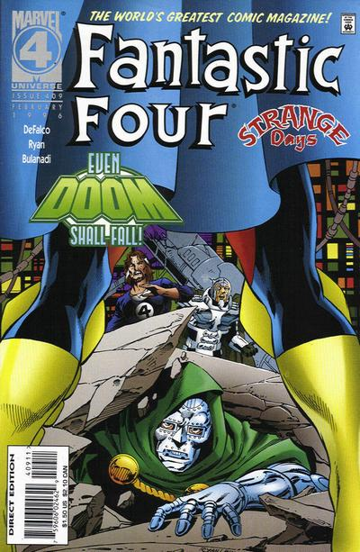 Cover for Fantastic Four (Marvel, 1961 series) #409 [Direct Edition]