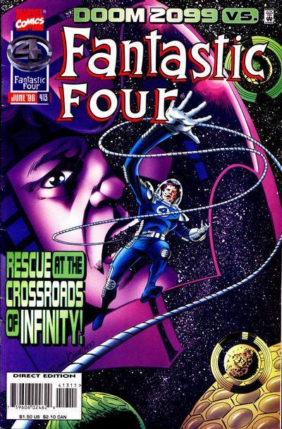 Cover for Fantastic Four (Marvel, 1961 series) #413 [Direct Edition]