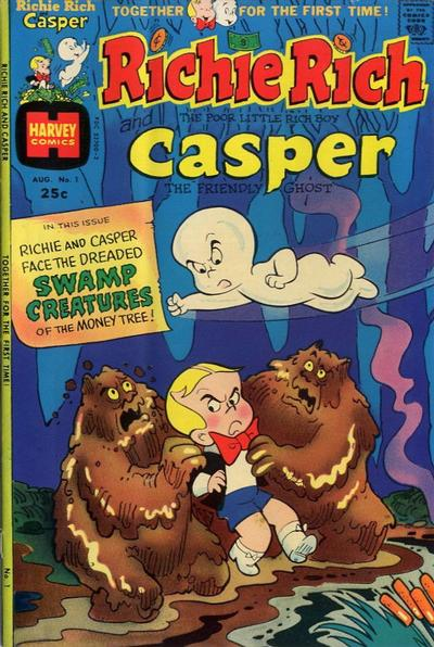 Cover for Richie Rich & Casper (Harvey, 1974 series) #1