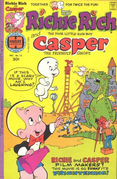 Cover for Richie Rich & Casper (Harvey, 1974 series) #15