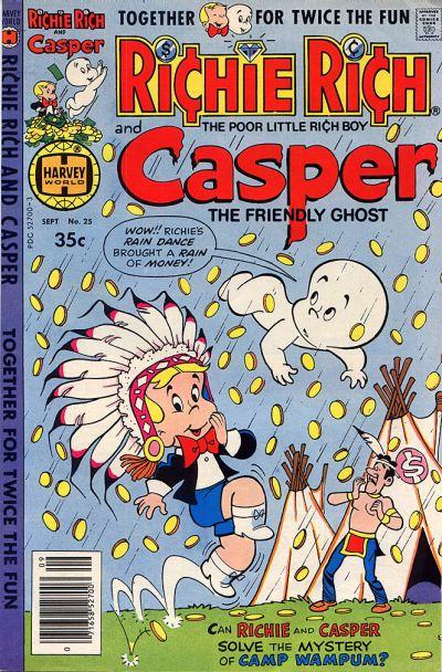 Cover for Richie Rich & Casper (Harvey, 1974 series) #25