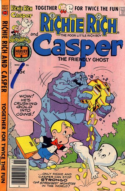 Cover for Richie Rich & Casper (Harvey, 1974 series) #26