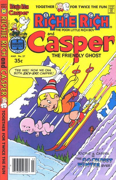 Cover for Richie Rich & Casper (Harvey, 1974 series) #27