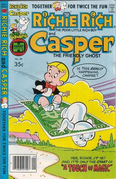 Cover for Richie Rich & Casper (Harvey, 1974 series) #29