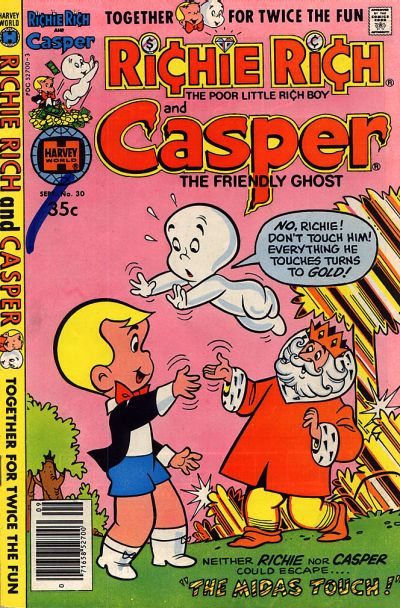 Cover for Richie Rich & Casper (Harvey, 1974 series) #30