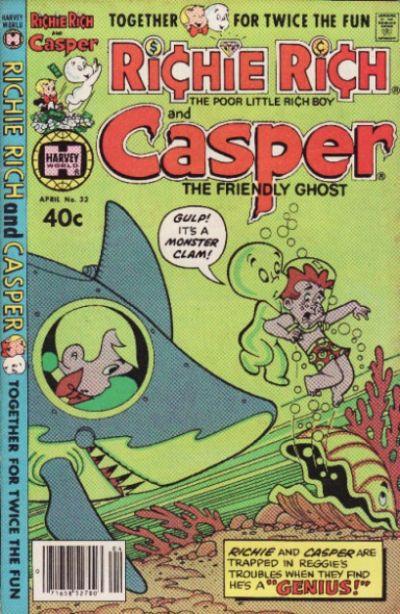 Cover for Richie Rich & Casper (Harvey, 1974 series) #33