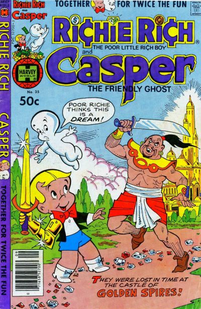 Cover for Richie Rich & Casper (Harvey, 1974 series) #35