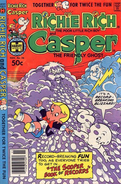 Cover for Richie Rich & Casper (Harvey, 1974 series) #36