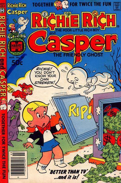 Cover for Richie Rich & Casper (Harvey, 1974 series) #38