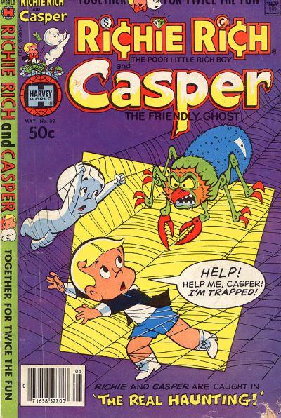 Cover for Richie Rich & Casper (Harvey, 1974 series) #39