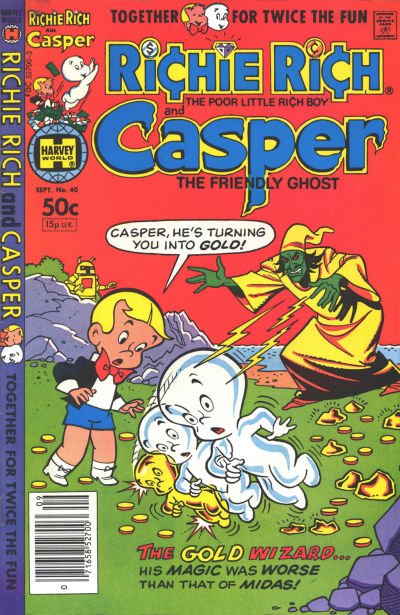 Cover for Richie Rich & Casper (Harvey, 1974 series) #40