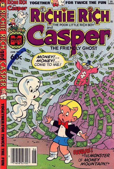 Cover for Richie Rich & Casper (Harvey, 1974 series) #44