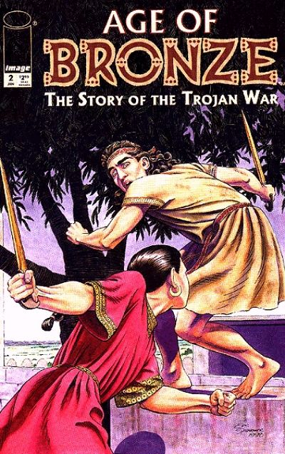 Cover for Age of Bronze (Image, 1998 series) #2