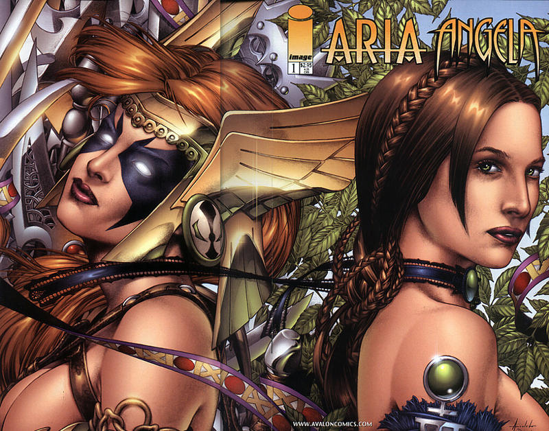 Cover for Aria Angela (Image, 2000 series) #1 [Anacleto Wraparound Standard Cover]