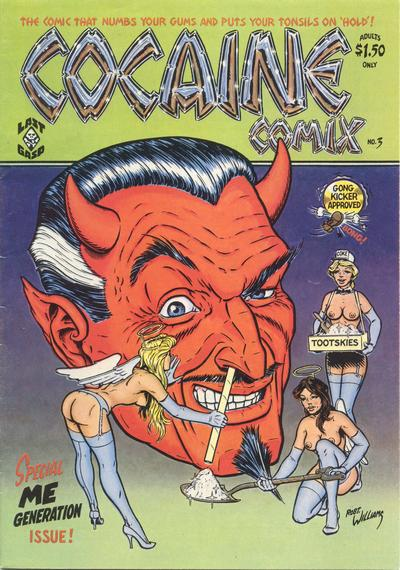 Cover for Cocaine Comix (Last Gasp, 1975 series) #3