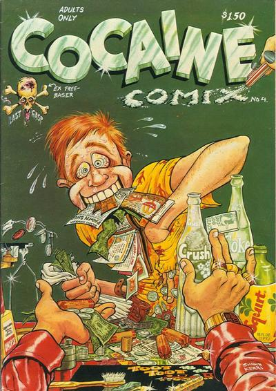 Cover for Cocaine Comix (Last Gasp, 1975 series) #4