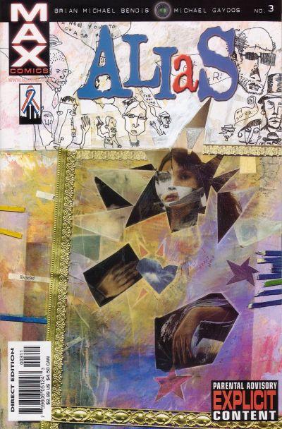 Cover for Alias (Marvel, 2001 series) #3