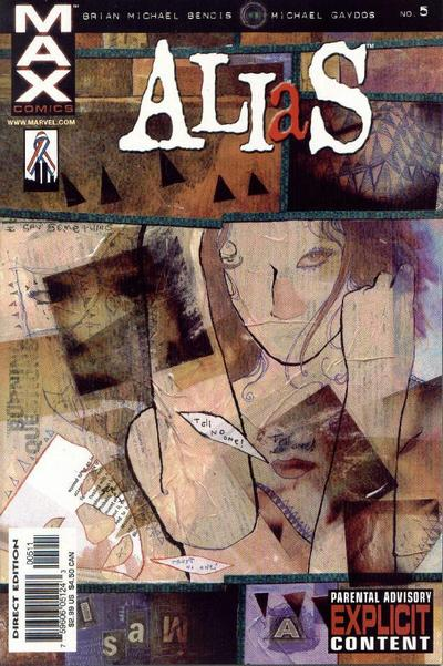 Cover for Alias (Marvel, 2001 series) #5