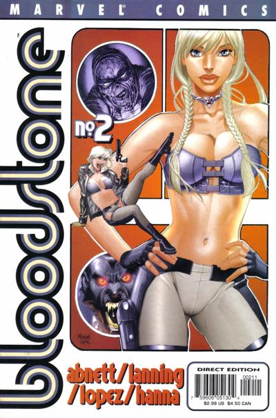 Cover for Bloodstone (Marvel, 2001 series) #2