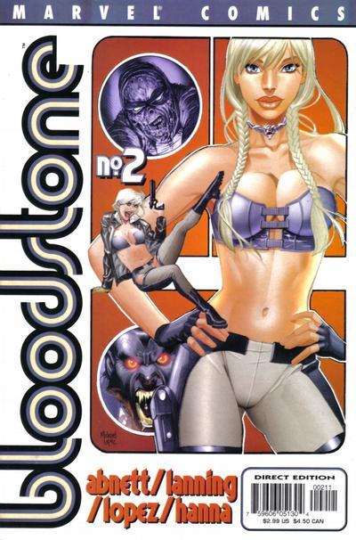 Cover for Bloodstone (Marvel, 2001 series) #2
