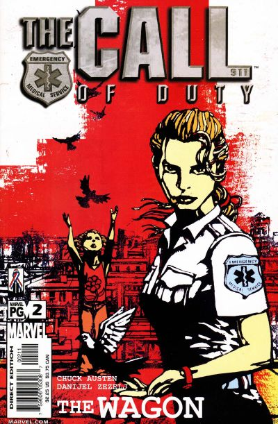 Cover for The Call of Duty: The Wagon (Marvel, 2002 series) #2