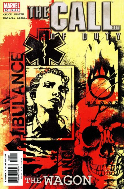 Cover for The Call of Duty: The Wagon (Marvel, 2002 series) #3