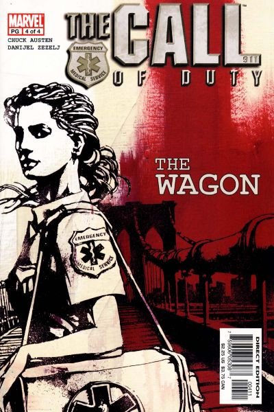 Cover for The Call of Duty: The Wagon (Marvel, 2002 series) #4