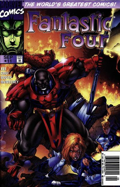 Cover for Fantastic Four (Marvel, 1996 series) #11 [Newsstand]