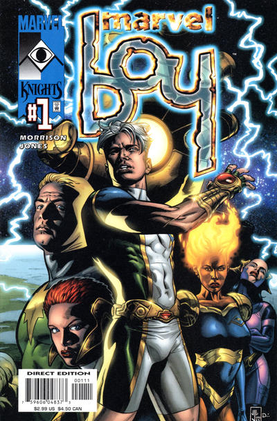 Cover for Marvel Boy (Marvel, 2000 series) #1 [Direct Edition]