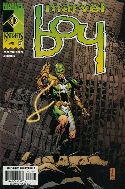Cover for Marvel Boy (Marvel, 2000 series) #2