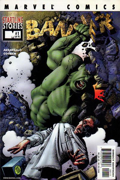 Cover for Startling Stories: Banner (Marvel, 2001 series) #1