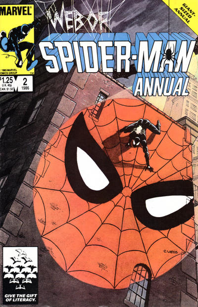 Cover for Web of Spider-Man Annual (Marvel, 1985 series) #2 [Newsstand]