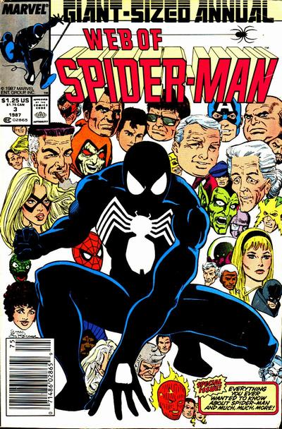 Cover for Web of Spider-Man Annual (Marvel, 1985 series) #3 [Direct]