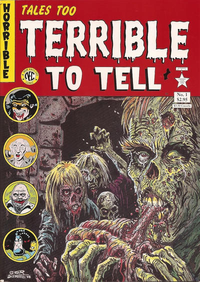 Cover for Tales Too Terrible to Tell (New England Comics, 1989 series) #1 [First Edition]