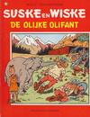 Cover for Suske en Wiske (Standaard Uitgeverij, 1967 series) #170 - De olijke olifant