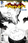 Cover Thumbnail for Batman (2011 series) #22 [Greg Capullo Black & White Cover]