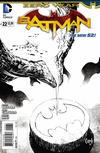 Cover for Batman (DC, 2011 series) #22 [Greg Capullo Black & White Cover]