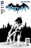 Cover Thumbnail for Batman (2011 series) #26 [Greg Capullo Black & White Cover]