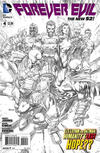 Cover for Forever Evil (DC, 2013 series) #4 [David Finch Sketch Cover]