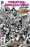 Cover for Forever Evil: Arkham War (DC, 2013 series) #1 [Jason Fabok Black & White Cover]