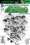 Cover Thumbnail for Green Lantern (2011 series) #17 [Doug Mahnke / Mark Irwin Black & White Cover]