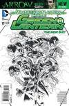 Cover Thumbnail for Green Lantern (2011 series) #17 [Doug Mahnke / Mark Irwin Black & White Cover]