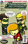 Cover Thumbnail for Green Lantern (2011 series) #27 [Scribblenauts Unmasked Variant Cover]