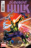 Cover Thumbnail for Savage Hulk (2014 series) #1 [John Cassaday Variant Cover]
