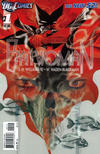 Cover Thumbnail for Batwoman (2011 series) #1 [2nd Printing - Red Background]
