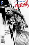 Cover for Batwoman (DC, 2011 series) #21 [J. H. Williams III Black & White Cover]