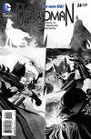 Cover for Batwoman (DC, 2011 series) #24 [J. H. Williams III Black & White Cover]