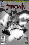 Cover for Batwoman (DC, 2011 series) #25 [Stephane Roux Black & White Cover]