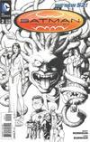 Cover for Batman Incorporated (DC, 2012 series) #2 [Chris Burnham Black & White Cover]