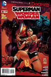 Cover for Superman / Wonder Woman (DC, 2013 series) #8 [2nd Printing]